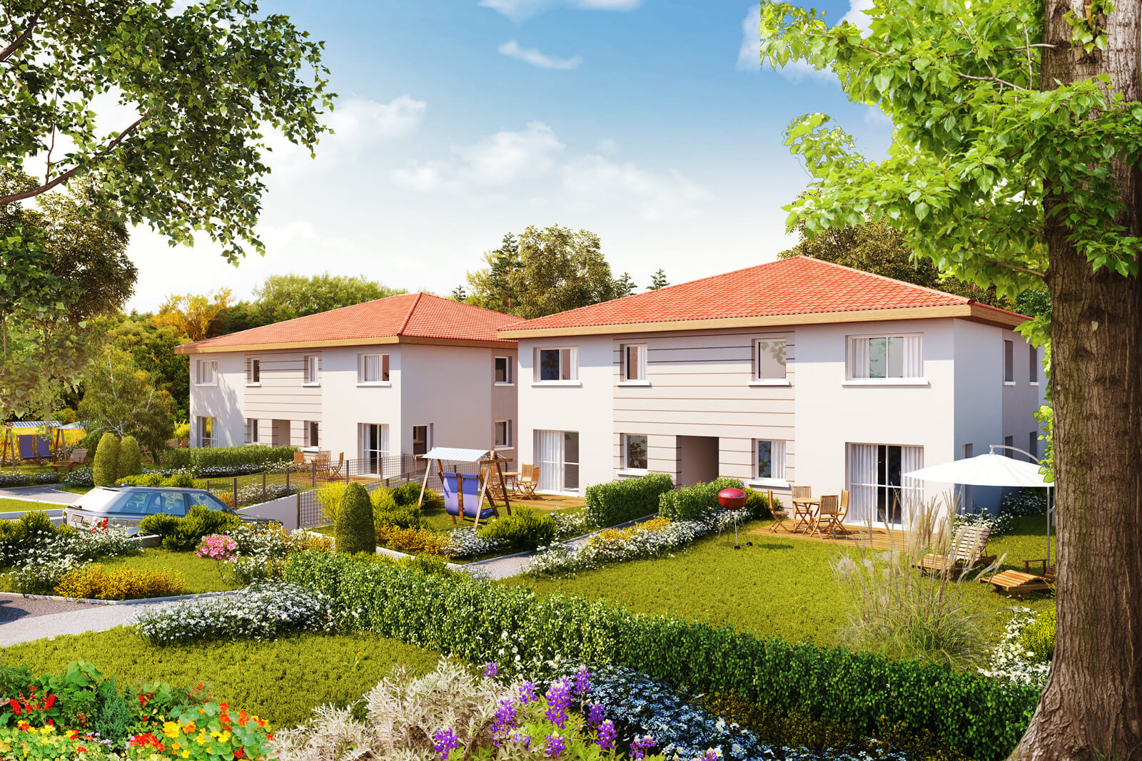 Programme immobilier neuf sc nographik for Programme immobilier