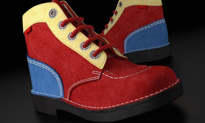 Chaussures enfant en 3D