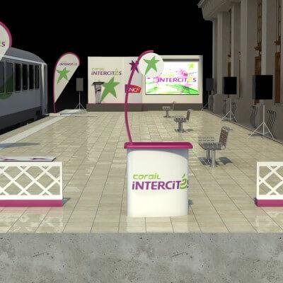 Scenographik - Projet de quai intercité