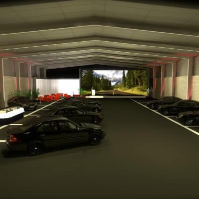 Scenographik - exposition de voitures