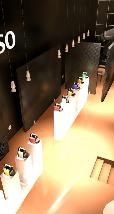 Scenographik - Boutique café Nespresso