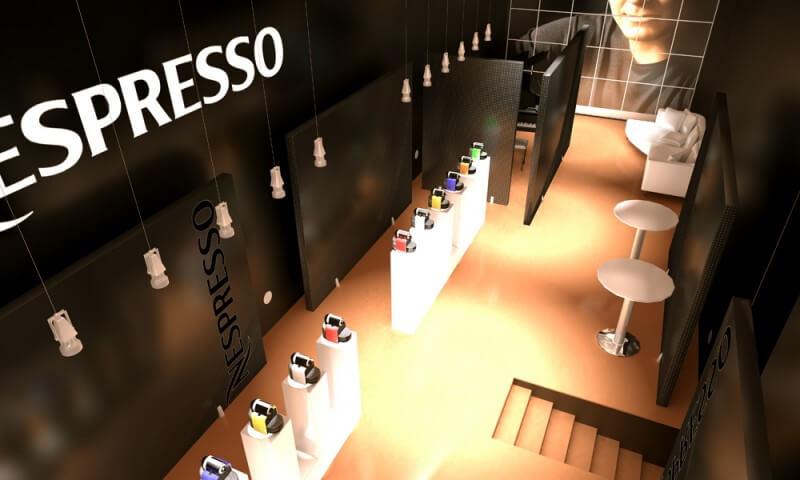 Boutique café Nespresso